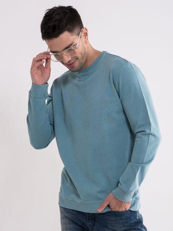 Tirkiz majica dugih rukava