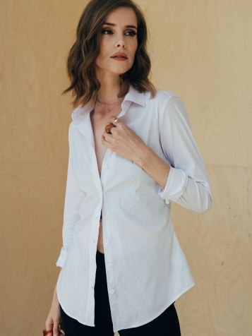 Ženska basic košulja bijela