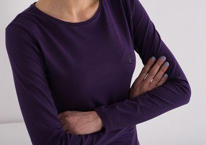 Ljubičasta basic majica