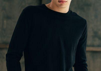 Basic džemper crni