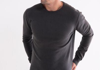 Basic džemper zeleni