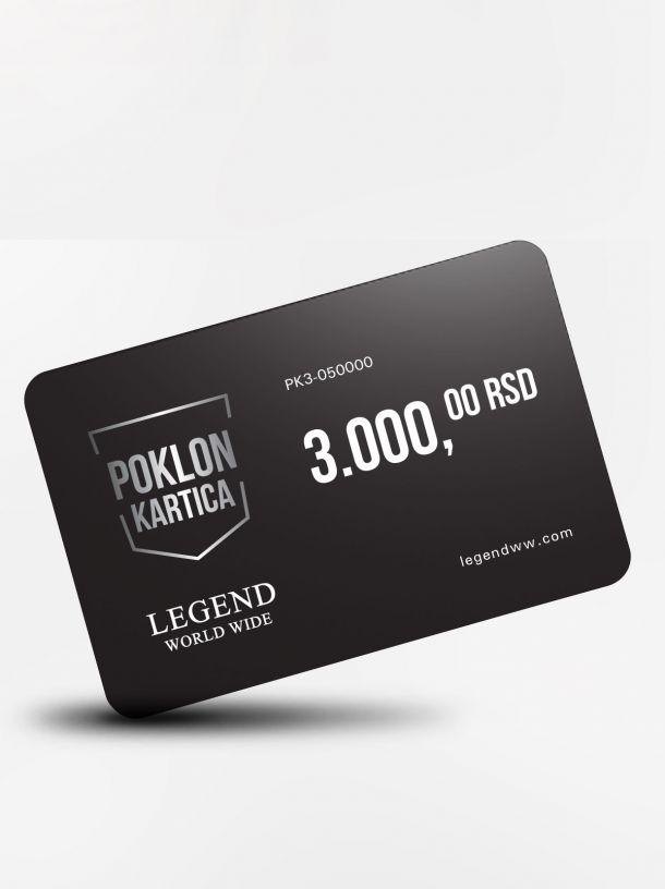 Poklon kartica 2000 dinara!