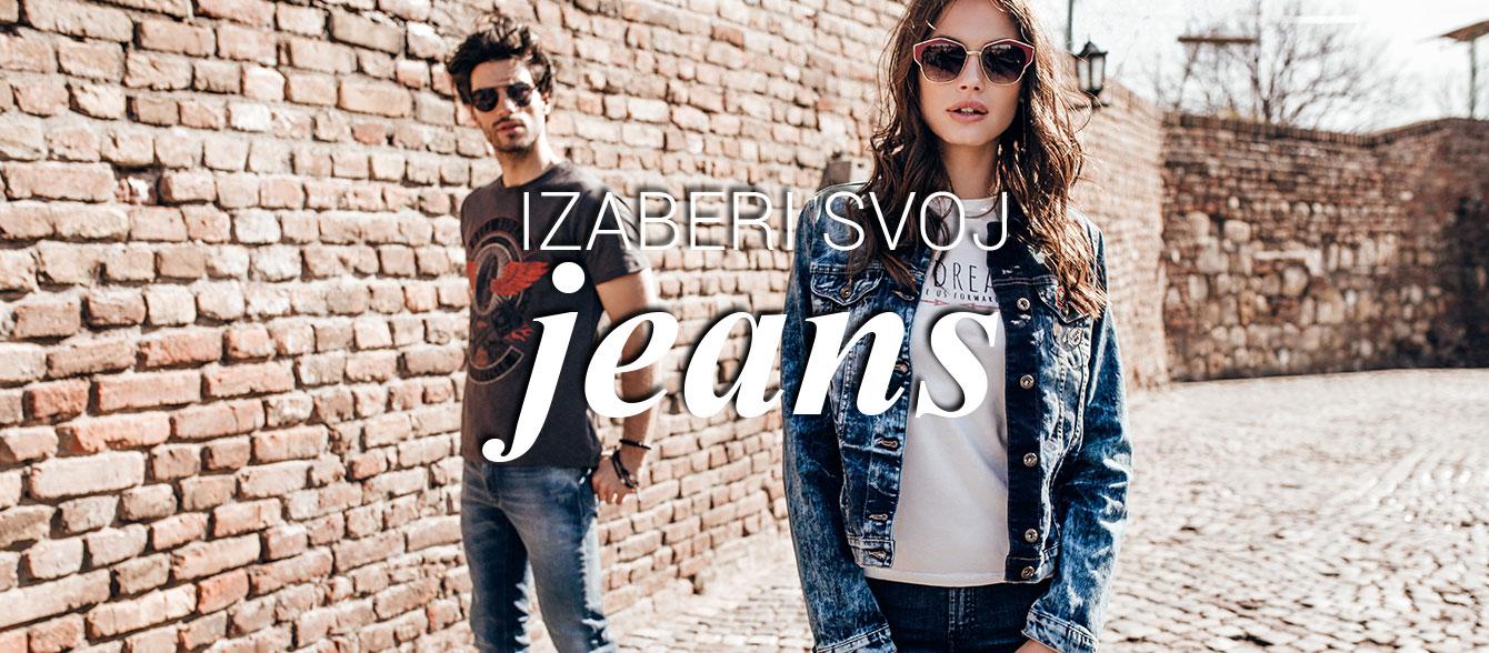 legend izabero svoj jeans