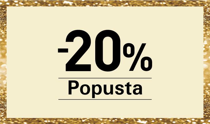 20%  popusta decembar