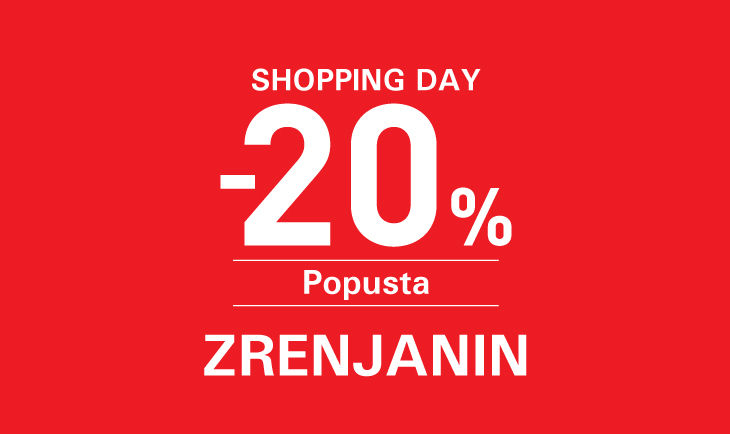 Zrenjanin shopping day